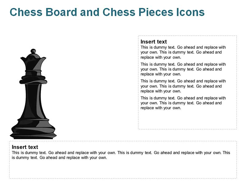 Queen Chess Dash for PowerPoint