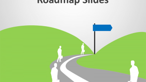 Roadmap Analogy - Editable PowerPoint Slides