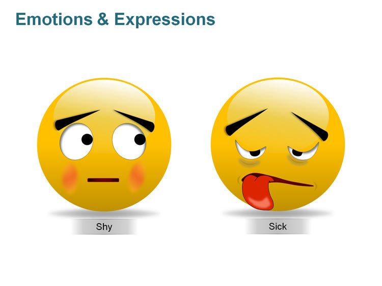 Emotions and Expressions Picture for PPT
