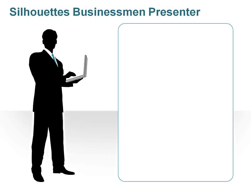 PowerPoint Images of Business Executive in a Meeting
