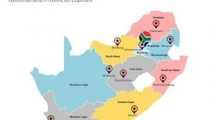 National and Provincial Capitals of South Africa