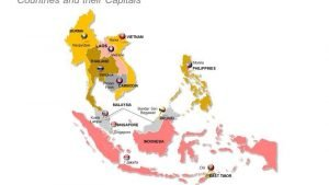 South East Asia PPT Map