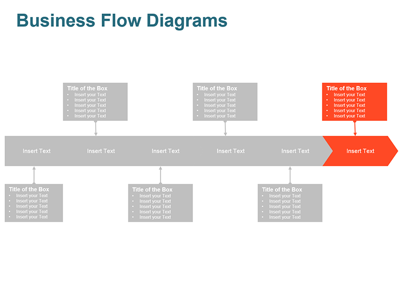 Process Arrow Diagram - Editable PowerPoint Slide
