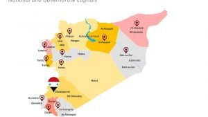 Governorate Map of Syria PPT