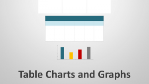 Tables, Charts and Graphs Editable PPT Presentation