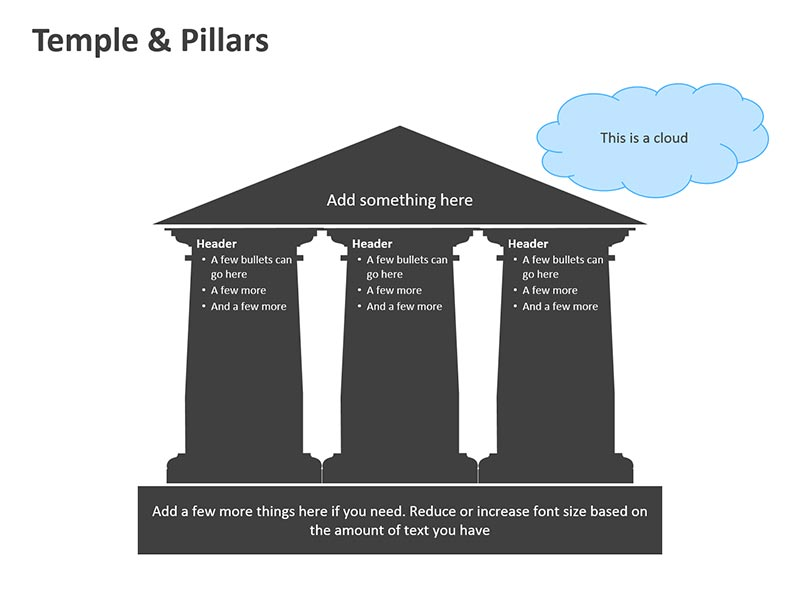 Temple Cliparts - PowerPoint Slide