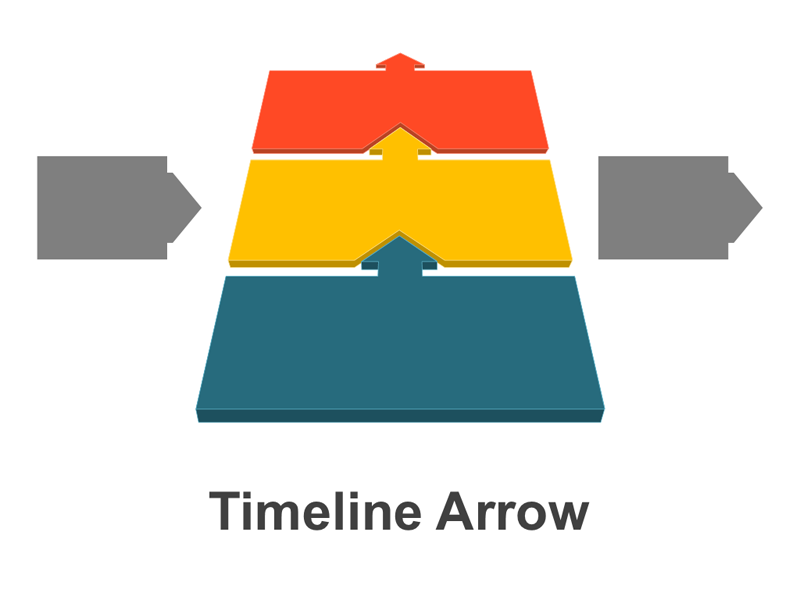 Timeline Arrow PowerPoint Template