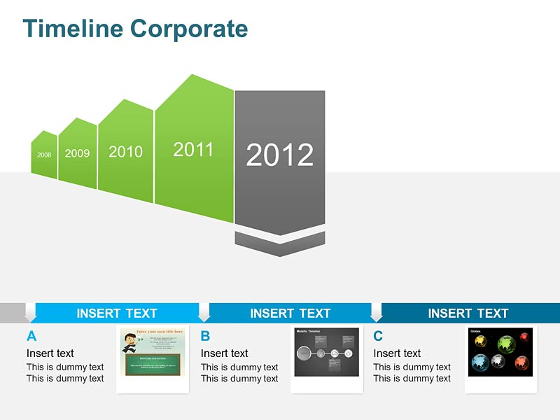 Corporate Timeline of PowerPoint