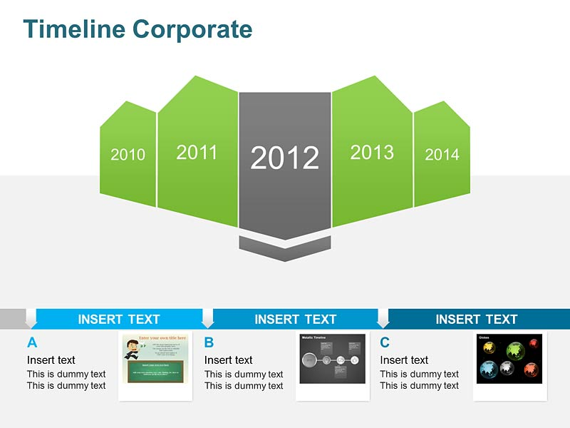 Timeline Corporate - Vector Graphics