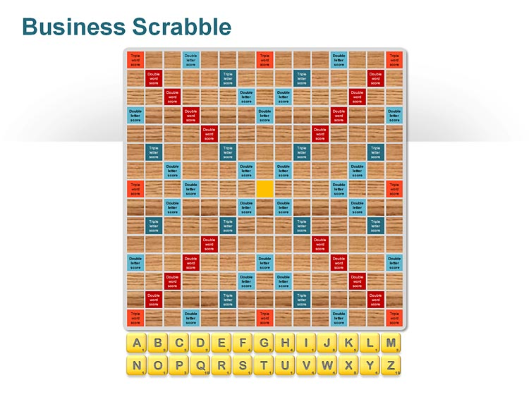 Scrabble Board Games PPT Slide