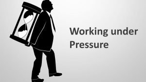 Working under Pressure - Editable PowerPoint Presentation