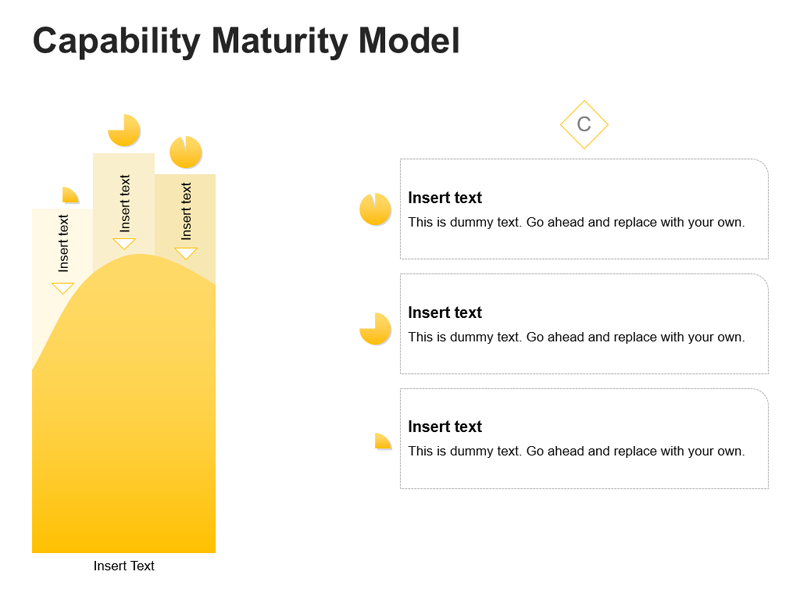 Business Maturity Model Diagram of PPT
