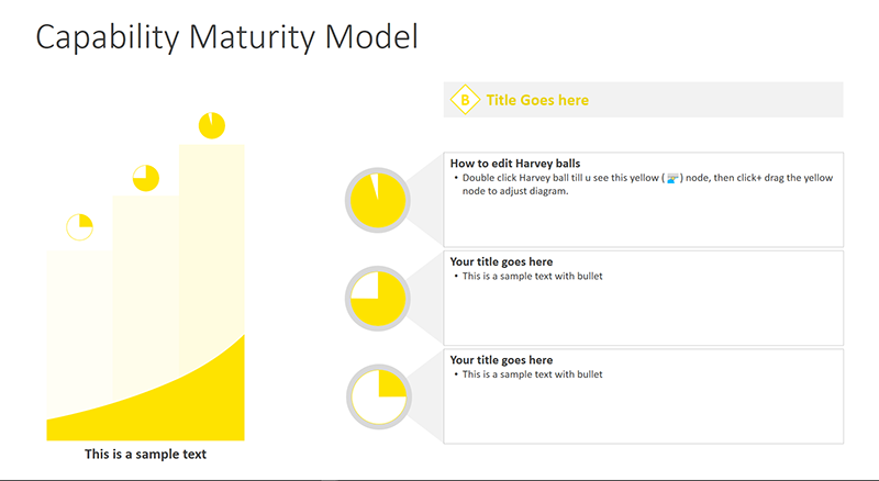Maturity Model - PowerPoint Template
