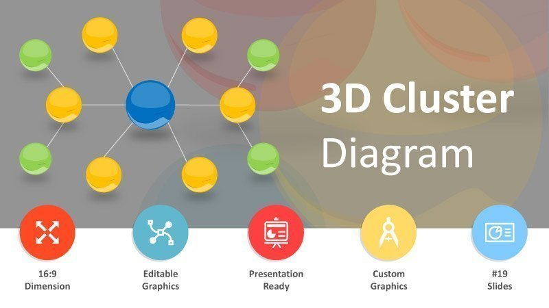 3D-Cluster-Business-Images-PPT-Slide