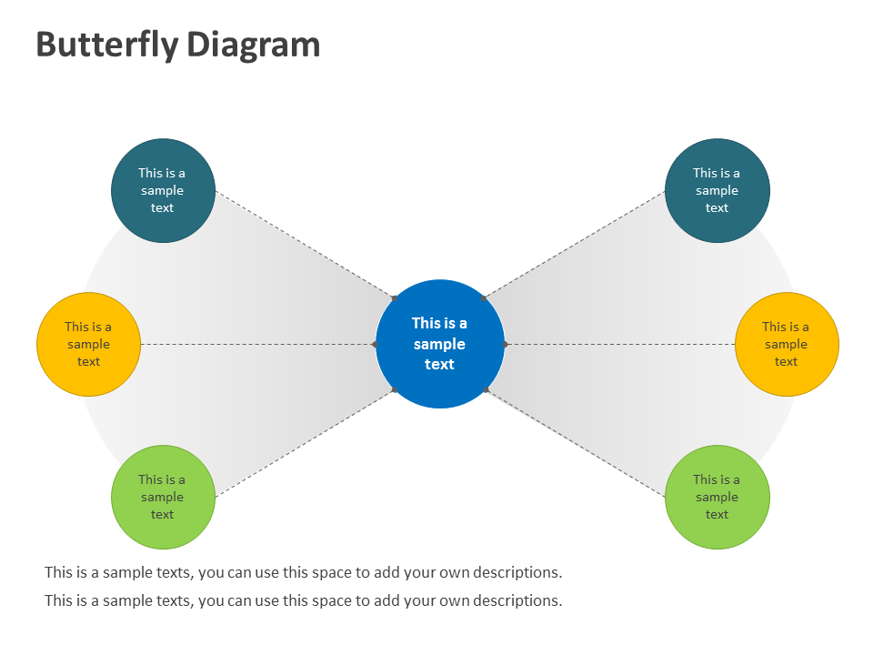 Editable-PPT-Butterfly-Business-Diagrams