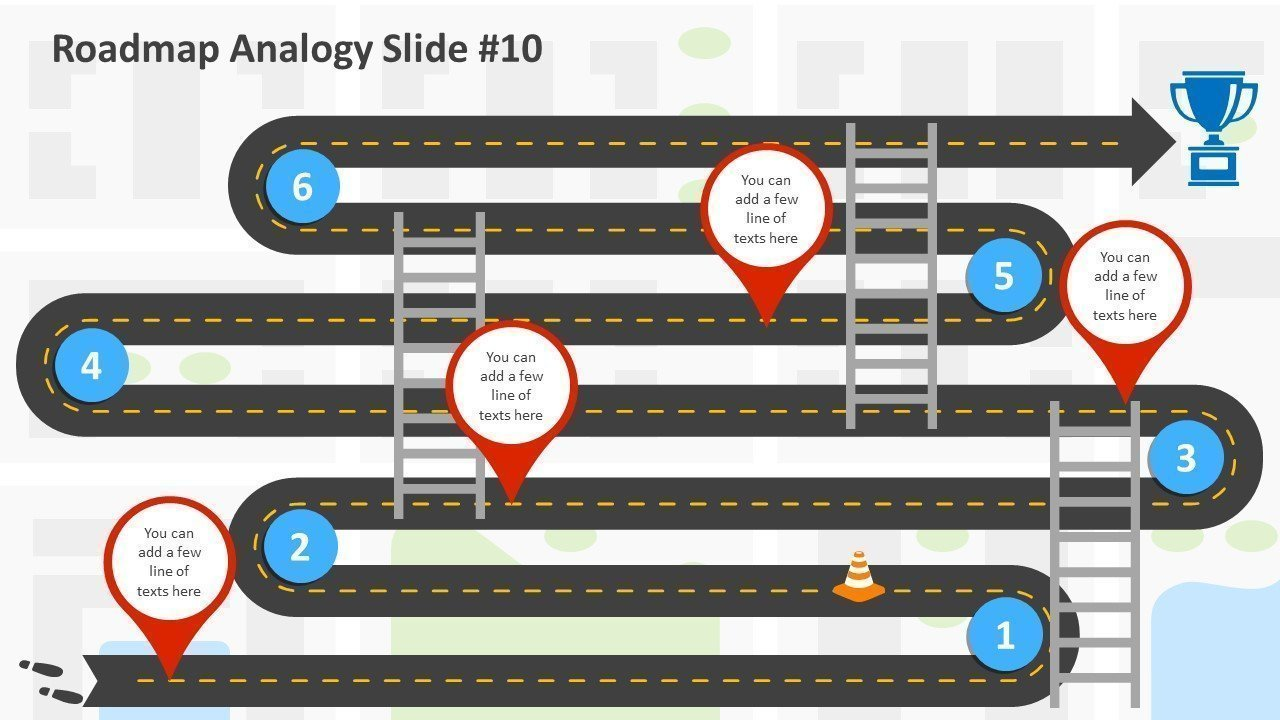 Technology Roadmap - Editable PowerPoint Slide