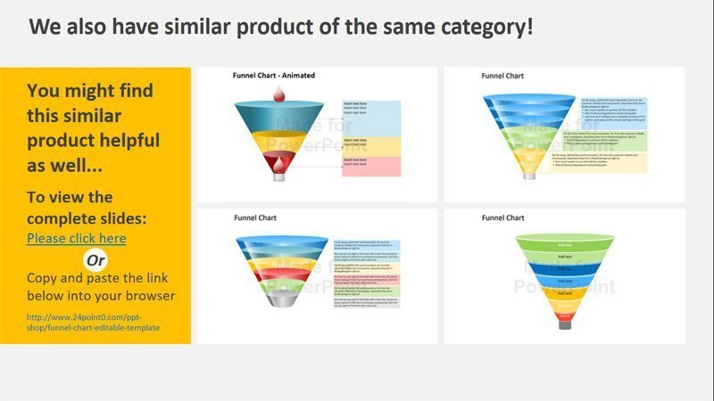 Sales Funnel Stages for Links Products