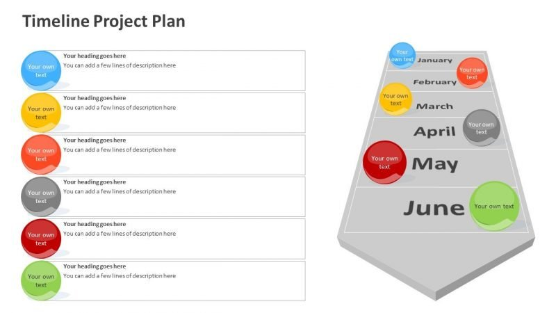 Project Plan Timeline PPT Slide
