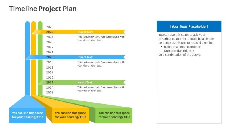 Project Planning Timeline PPT Template