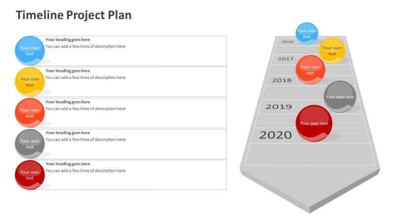 Timeline Project Plan PPT Presentation
