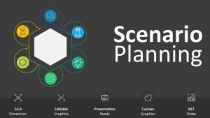 Business Scenario Planning Cover - PowerPoint Presentation
