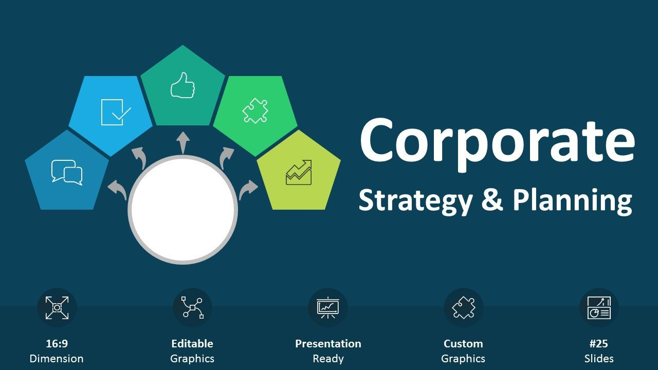 Corporate Strategy Planning - Editable PowerPoint Presentation