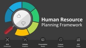 Human Resource Planning Framework Cover Slide PPT