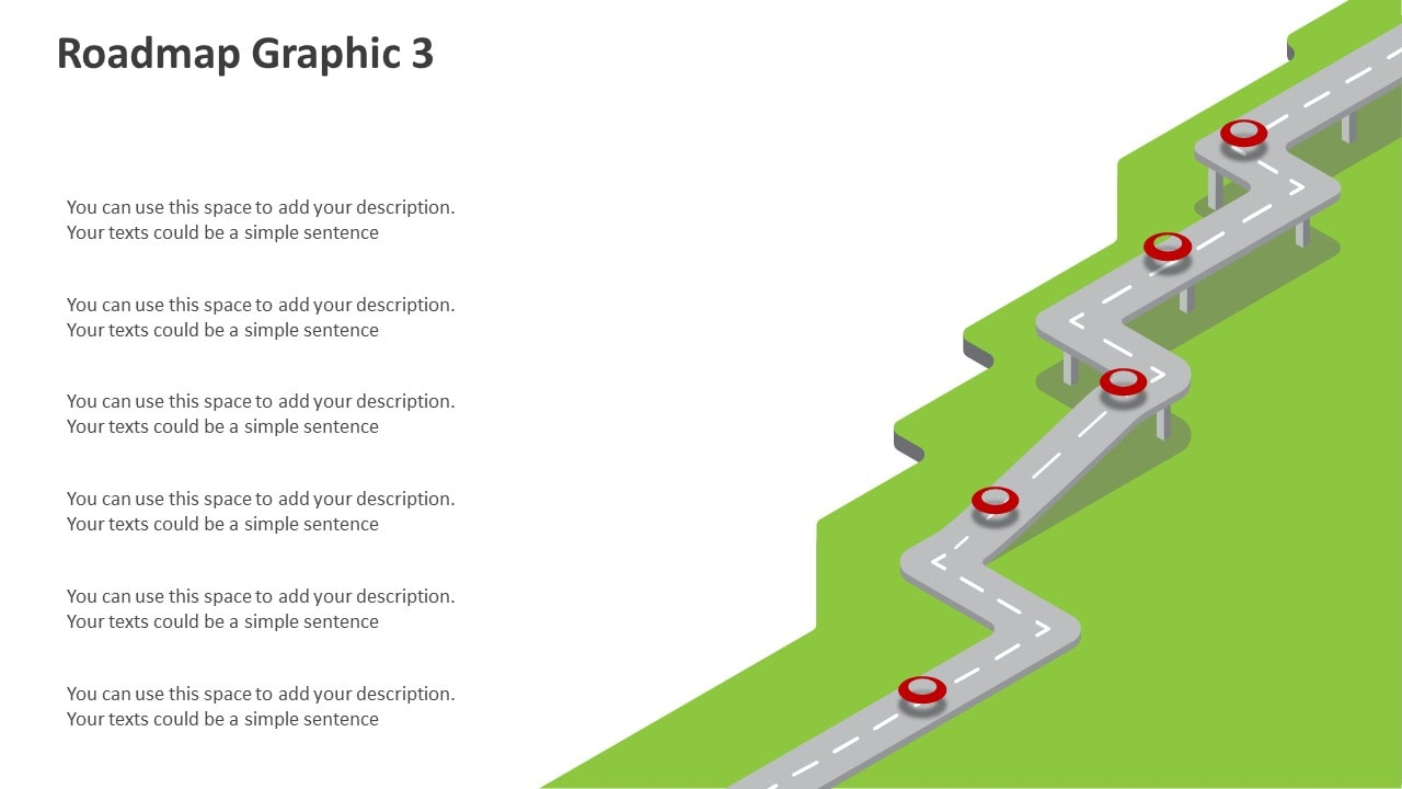 Editable Roadmap Powerpoint Graphics